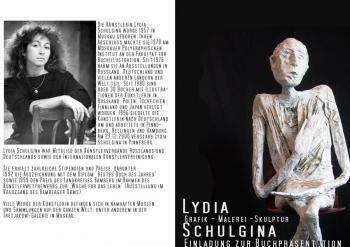 Buchpräsentation »Lydia Schulgina. Grafik - Malerei - Skulptur«