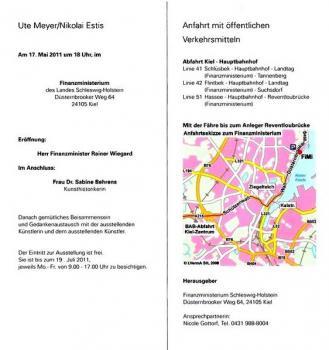 Выставка картин 17.05.-19.07.2011 в Финмине города Киль