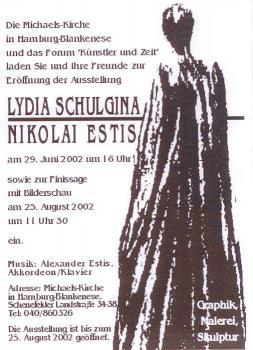 Lydia Schulgina, Nikolai Estis. Graphik, Malerei, Skulptur. (Hamburg-Blankenese)
