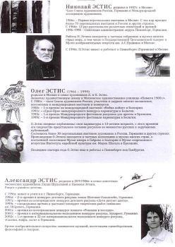 Выставка Николая Эстиса, Олега Эстиса, Александра Эстиса «ПРОДОЛЖАТЬ НЕ ПОВТОРЯЯ». Москва