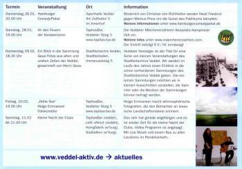 VEDDELerLEBEN. Kultur auf der Veddel - Hamburg. Haus des künstlers Nikolai Estis